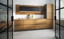 Attēls  Virtuves iekārta MALMO Nr. 2 (Koka/melna)