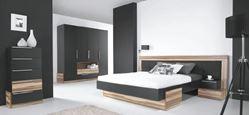 Attēls Guļamistabas iekārta MORENA (2 krāsas)