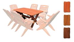 Attēls  Dārza galds MO 109 (3 krāsas)