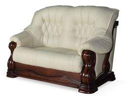 Attēls  Ādas dīvāns LUXUR 2