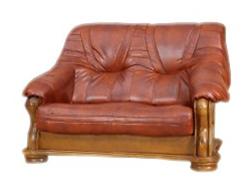 Attēls  Ādas dīvāns BOLERO 2N