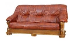 Attēls  Ādas dīvāns BOLERO 3N