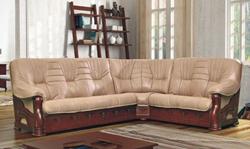 Attēls  Ādas stūra dīvāns LORD 2N3