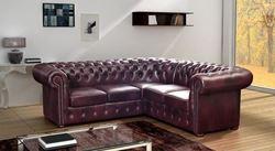 Attēls  Ādas stūra dīvāns NAPOLI 2C3