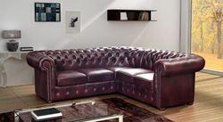 Attēls  Ādas stūra dīvāns NAPOLI 1C3