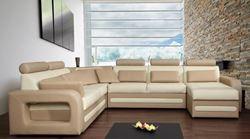 Attēls  Ādas stūra dīvāns SKIPPER C