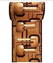Attēls  Paklājs ALFA BCF (100x200 cm)