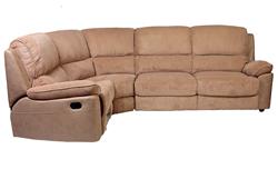 Attēls  Stūra dīvāns reglaineris BROOKS L/P (Bēšs)