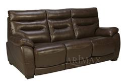 Attēls  Ādas dīvāns GRIFFIN 3R