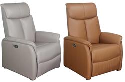 Attēls  Ādas krēsls reglaineris DM01007 (2 krāsas)