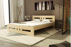 Attēls  Koka gulta ROMA (80 cm) (5 krāsas)