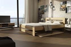 Attēls  Koka gulta MARIKA (80 cm) (5 krāsas)