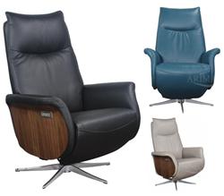 Attēls  Ādas krēsls reglaineris DM01004 (3 krāsas)