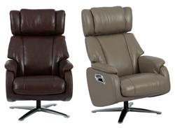 Attēls  Ādas krēsls reglaineris DM02009 (3 krāsas)