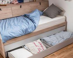 Attēls  Bērnu divvietīgā gulta  MT MEET ME