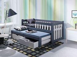Attēls  Bērnu divvietīgā koka gulta FILIP II