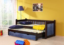Attēls  Bērnu divvietīgā koka gulta FILIP