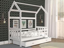 Attēls  Bērnu gulta DOMEK 2 (190 cm)(4 krāsas)