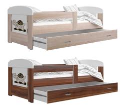 Attēls  Bērnu gulta FILIP GRAFIKA (140 cm)(2 krāsas)