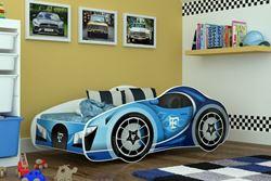 Attēls  Bērnu gulta CARS (140 cm)