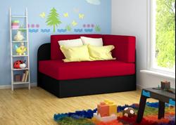 Attēls  Bērnu dīvāns ROSA (5 krāsas)