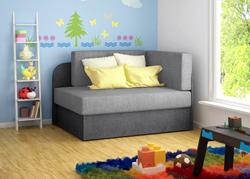 Attēls  Bērnu dīvāns ROSA (3 krāsas)