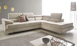Attēls  Ādas stūra dīvāns LUTON
