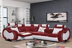 Attēls  Ādas stūra dīvāns ARIZONA B MEDIUM