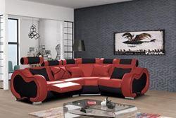 Attēls  Ādas stūra dīvāns ARIZONA B MINI