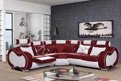 Attēls  Ādas stūra dīvāns ARIZONA B REGULAR