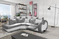 Attēls  Ādas stūra dīvāns ARIZONA C MEDIUM