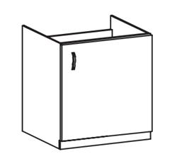 Attēls  Virtuves skapītis iebūvējamai tehnikai PROWANSJA D60Z (P/L)