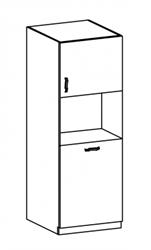 Attēls  Virtuves skapis iebūvējamai tehnikai PROWANSJA D60P (P/L)