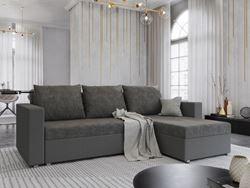 Attēls  Stūra dīvāns HUGO