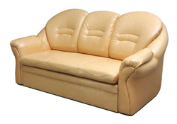 Attēls  Ādas dīvāns EMIL 3R