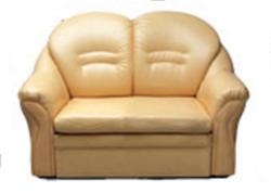 Attēls  Ādas dīvāns EMIL 2R