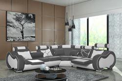 Attēls  Ādas stūra dīvāns ARIZONA B STANDARD