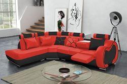 Attēls  Ādas stūra dīvāns ARIZONA C STANDARD